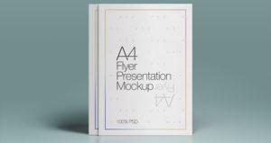 Flyer Mockup- A4