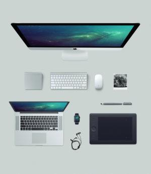 Multiple Design Mockup Bundle