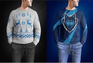 Male Sweater Mockup