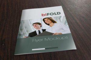 Illustration of a Bi-fold Flyer