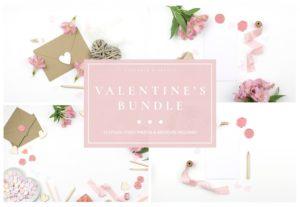 Aesthetic Valentine's Day Card Sample Design