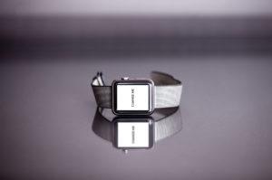 Silver Apple Watch Blueprint