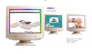 Illustrartive Design of Retro Desktops