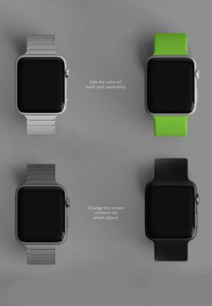Blueprint of Apple Watches