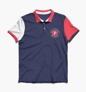 Double Angle Polo T-Shirt - Fashion and Apparel