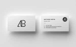 Double Side Business Card Mockup