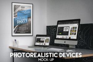 Multiple Image Desktop Mockup