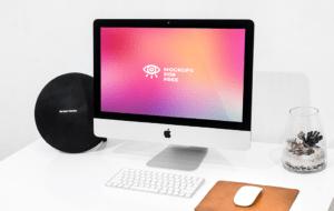 Vibrant Desktop Mockup
