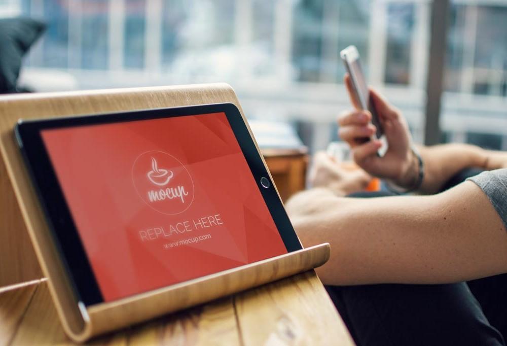 Sleek iPad Mockup