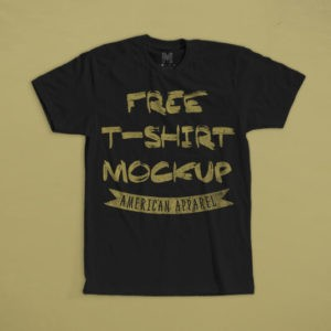 Dazzling T-Shirt Mockup