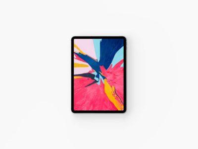 New iPad Pro Mockup
