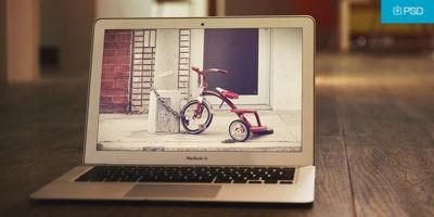 Vignette Macbook Mockup