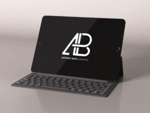 Black iPad Pro Mockup