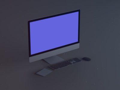 Dell Desktop Mockup