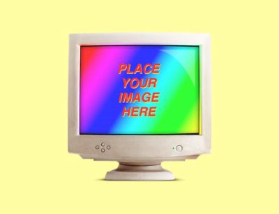 Notched iMac Mockup