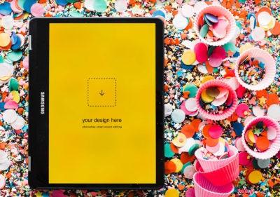 Attractive iPad Mockup