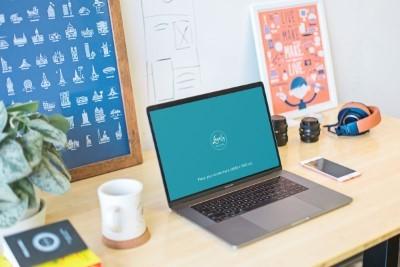 Elegant Laptop Mockup