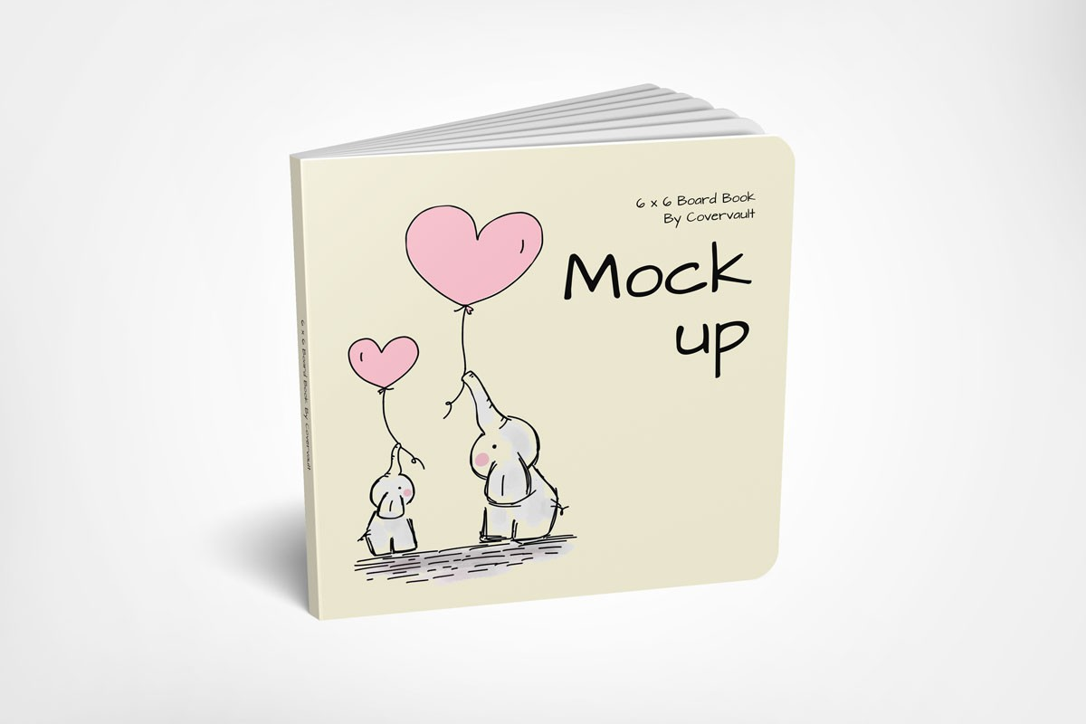 Kid's Book Cover Mockup