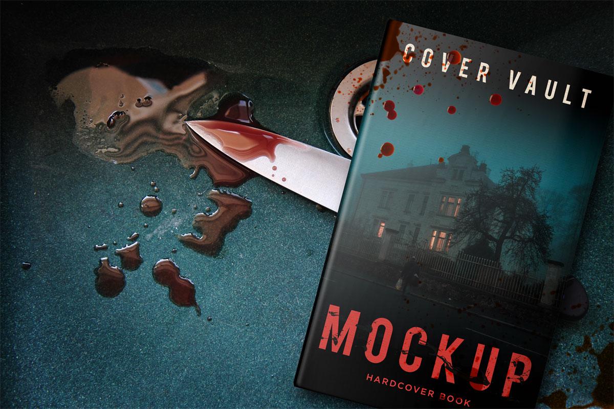 Murder Mystery Book Hard Cover
