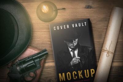 Investigator Novel Book Cover Mockup
