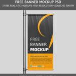 Free Banner PSD Mockup