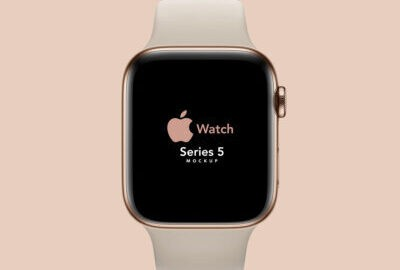 Apple Watch PSD Mockup