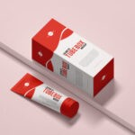Cosmetic Tube PSD Mockup