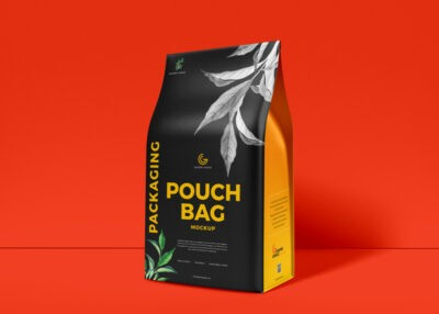 Free PSD packaging bag Mockup