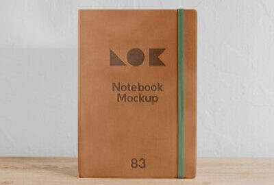 Free Office Notebook Mockup