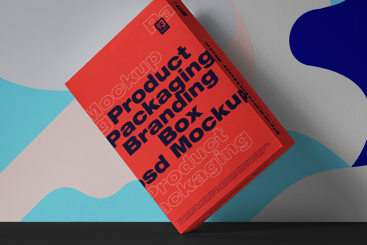Product Box PSD Mockup