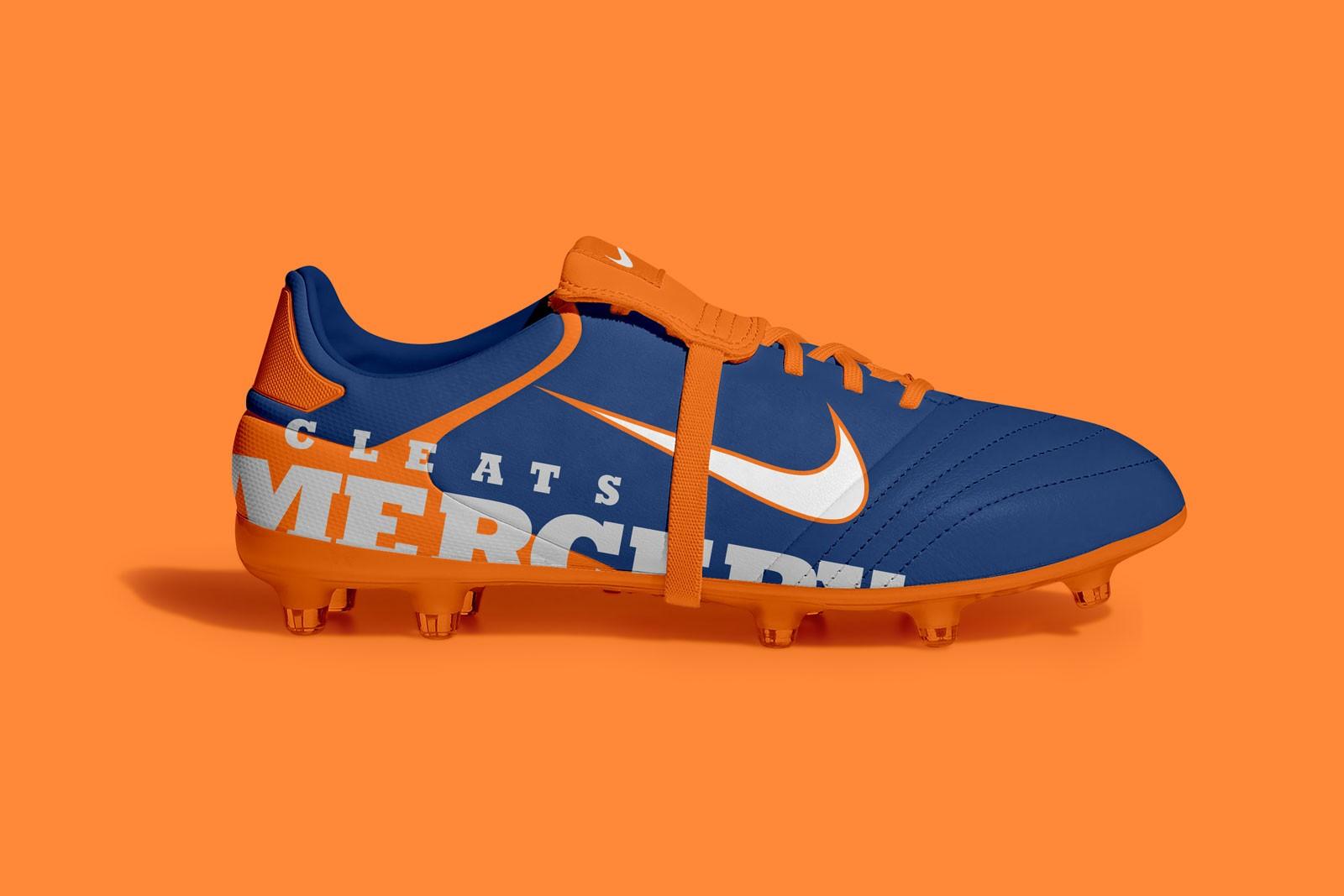 Free Soccer Shoes Mockup PSD