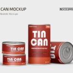 Free Drink CAN PSD Mockup