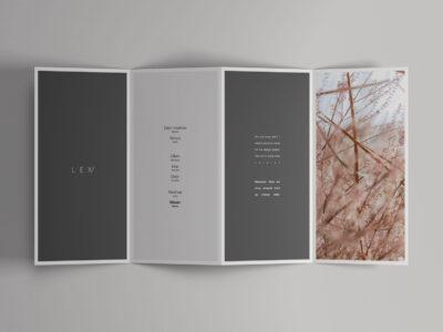 Fold Open Brochure Mockup