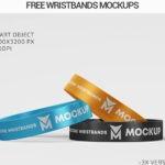 Free Wristband PSD Mockup