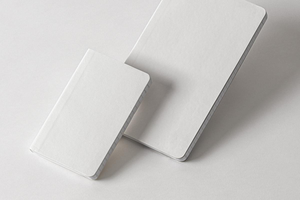 Free Office Notebook PSD Mockup