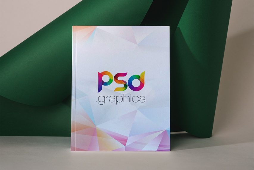 Story Book Cover PSD Mockup