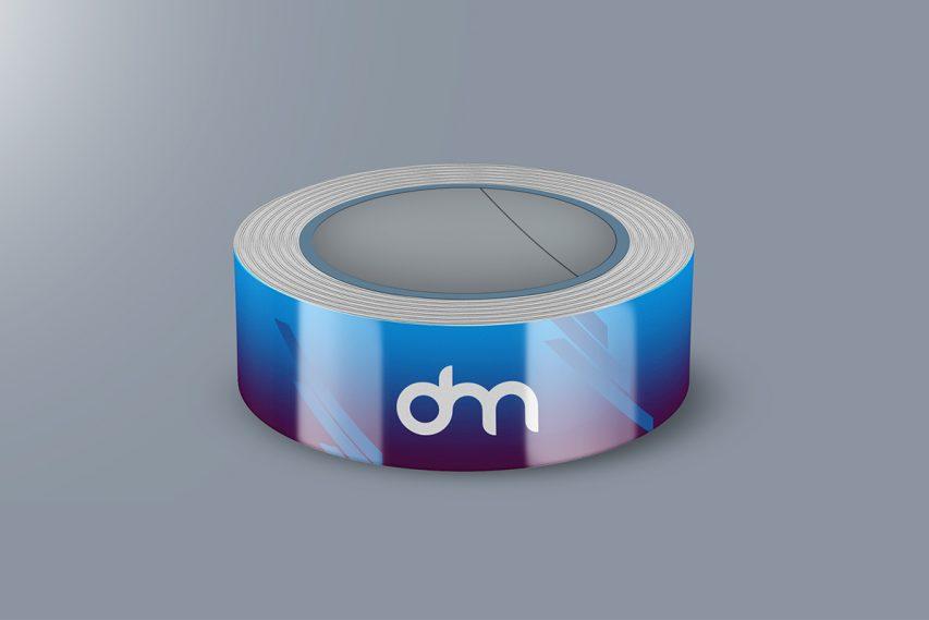 Free Tape Rolls PSD Mockup