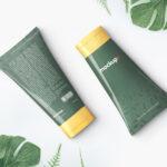 Free Cosmetics Cream Tube PSD Mockup