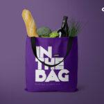Shopping Carry Bag Mockup Scene