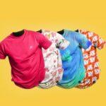 Full Set T-Shirt PSD Mockup