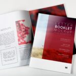 Free Magazine Booklet PSD Mockup