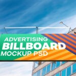 Outdoor Billboard PSD Mockup