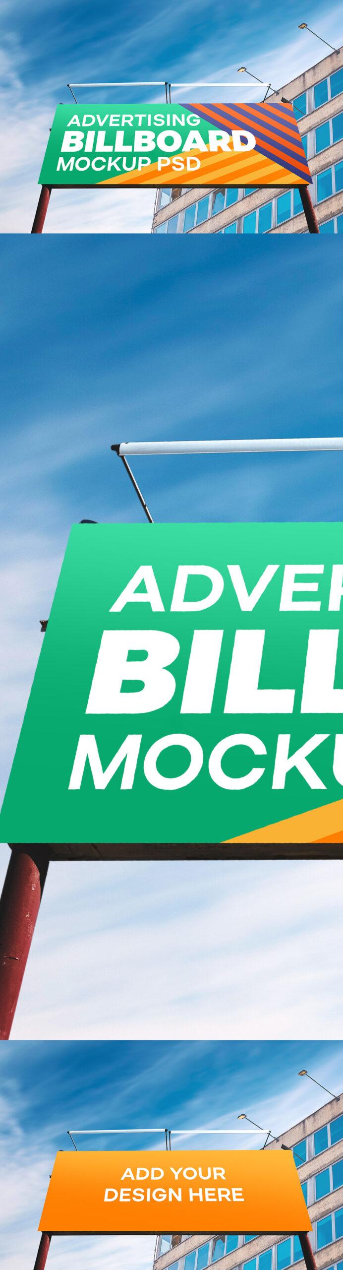 Outdoor Billboard PSD Mockup