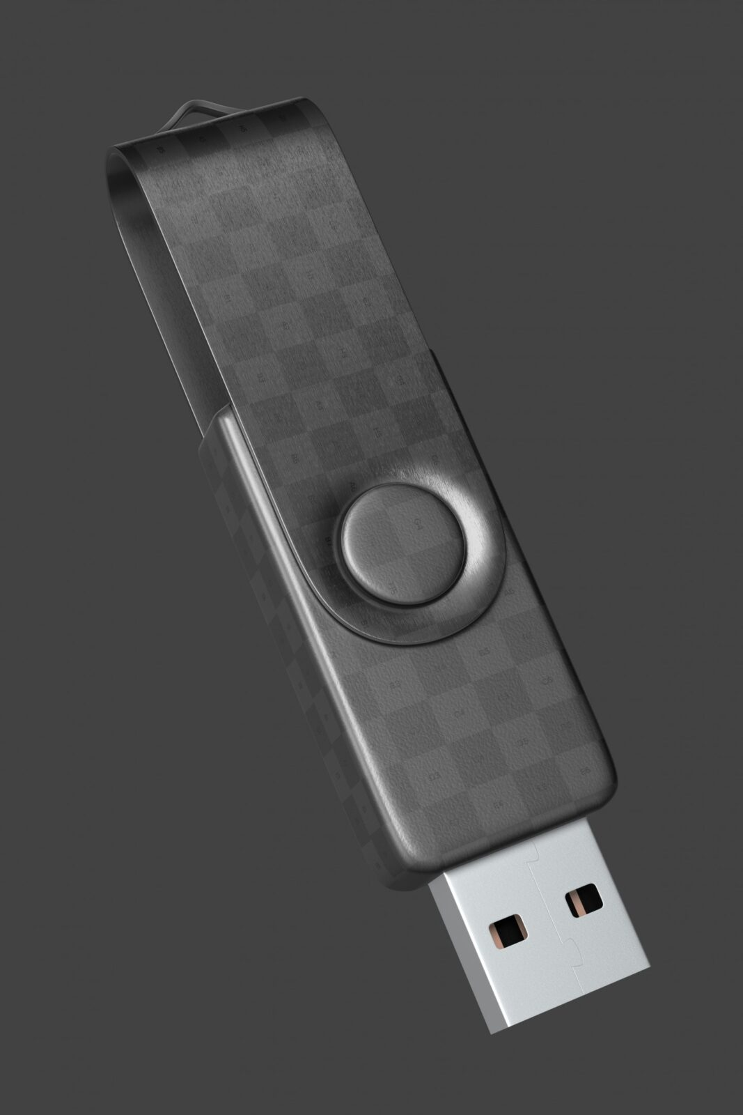 Free USB Flash Pen Drive Mockup