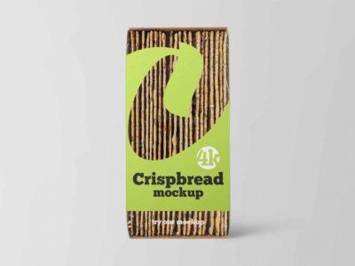 Free Baking Crispbread PSD Mockup
