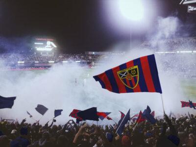 Free Soccer Flag PSD Mockup