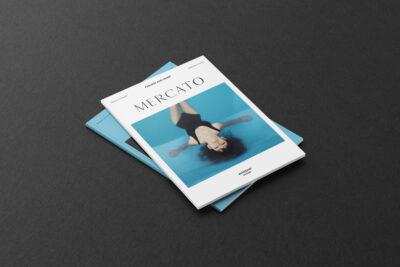 Free Fashion Magazine PSD Mockup