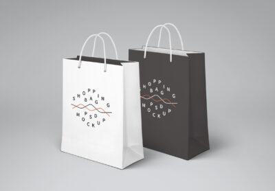 Shopping Bag PSD Mockup template