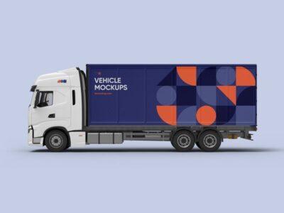 Vehicle Premade Design PSD Mockup