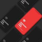 Free iPhone X Set PSD Mockup